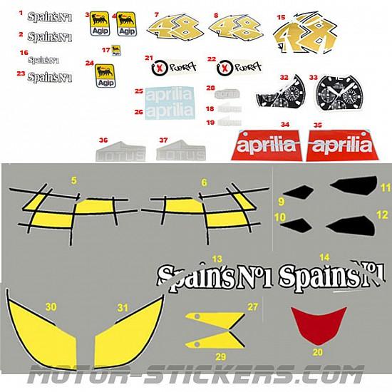 Aprilia RS 125 2008 Spains