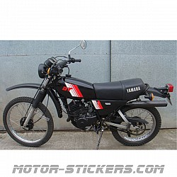 Yamaha DT 125MX '79-1980