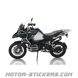 BMW R 1200 GS World Map 2016