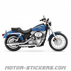Harley Davidson Dyna Super Glide '06-2007
