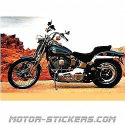 Harley Davidson Evo Springer '94-1997