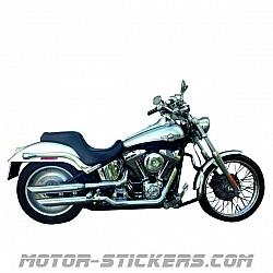 Harley Davidson Softail FXS 1450 Deuce 2003