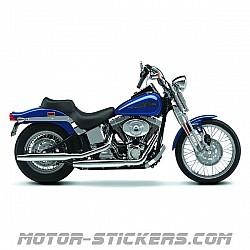 Harley Davidson Softail Springer '01-2002
