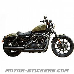 Harley Davidson Sportster 883 Iron 2016