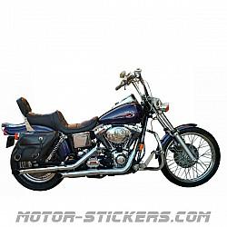 Harley Davidson Wide Glide FXDWG 1998