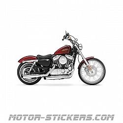 Harley Davidson XL 1200V Sportster Seventy Two 2012