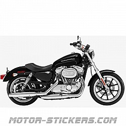 Harley Davidson XL 833N Super Low 2017