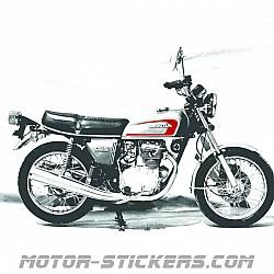 Honda CB 250-350 5G 1979