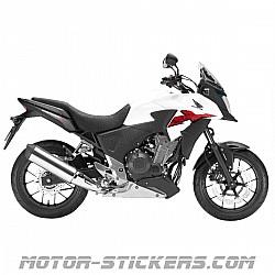 Honda CB 500X 13-2014