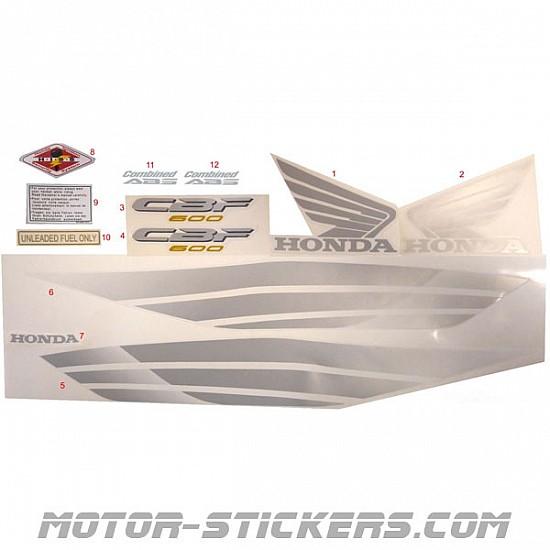 Honda CBF 600N 08-2009