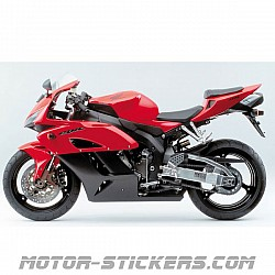 Honda CBR 1000RR without graphics 2004
