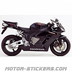 Honda CBR 1000RR without graphics 2005