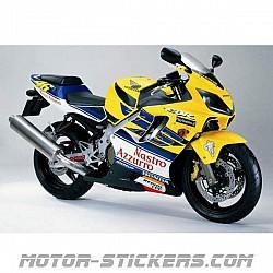 Honda CBR 600F Rossi 2002