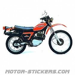 Honda XL 500S 1980