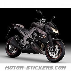 Kawasaki Z1000 2012
