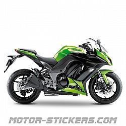 Kawasaki Z1000 SX '11-2013
