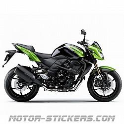 Kawasaki Z750 R 2011