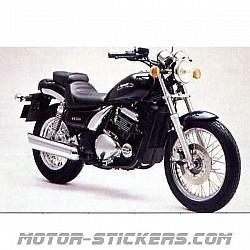 Kawasaki Eliminator EL252 1998