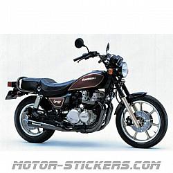 Kawasaki KZ 750 Spectre 1987
