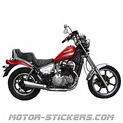 Kawasaki LTD 450 '88-1995