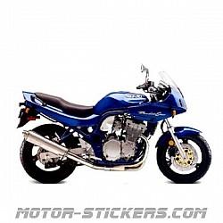 Suzuki GSF 600S Bandit '95-2000