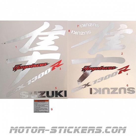 Suzuki GSX 1300R Hayabusa 02-2004