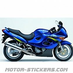 Suzuki GSX 600F '00-2002