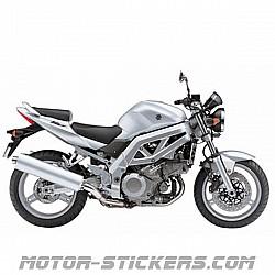 Suzuki SV 1000 '04-2007