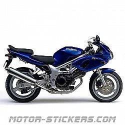 Suzuki SV 650S '99-2001