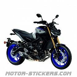 Yamaha MT-09 SP 2016