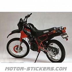 Yamaha XT 350 '86-2000