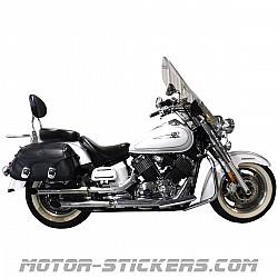 Yamaha XVS 1100 Dragstar Classic 98-2006
