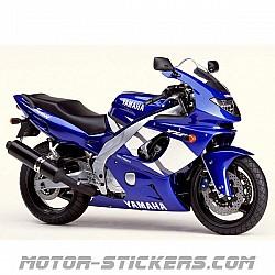 Yamaha YZF 600R Thundercat '02-2003