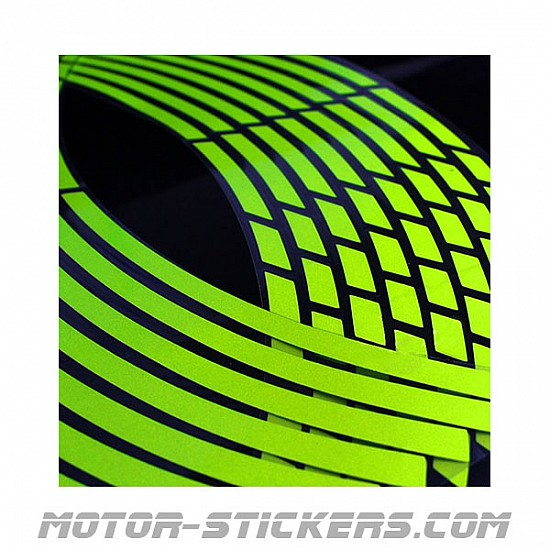 fluo style Rim stripes