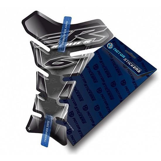 Protection de Reservoir Moto Autocollant en Gel Polymer compatible pour Kawasaki Er-6n Er6n 6n Vert Tankpad Sticker