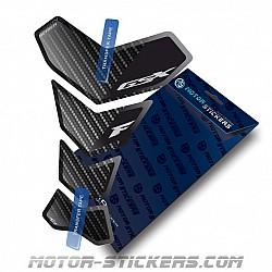 Tankpad Suzuki GSXF Carbon