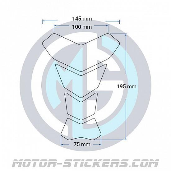 Tankpad Suzuki V-STROM Carbon